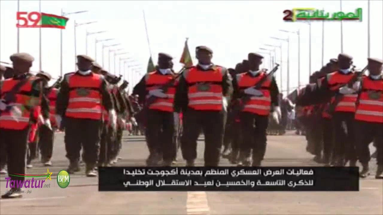 مشاركة أمن الطرق - فعاليات العرض العسكري - ذكرى 59 عيد الاستقلال بمدينة اكجوجت