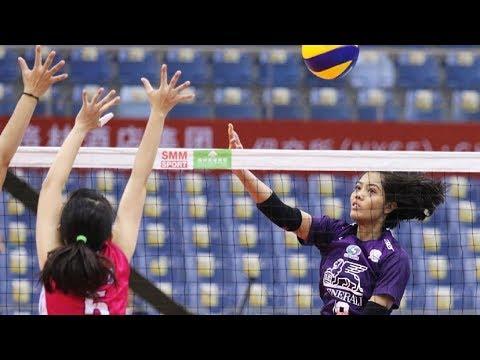 AVC WOMEN'S CLUB VOLLEYBALL CHAMPIONSHIP 2019 | QUARTERFINAL | THA - HKG
