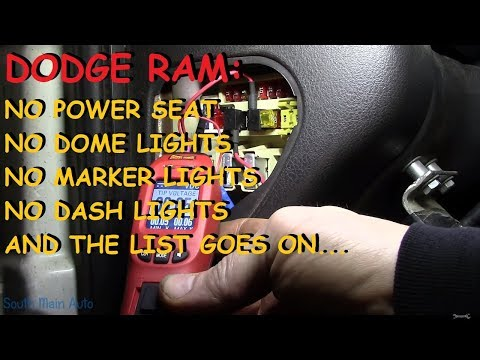 Dodge Ram: Lots Of Accessories Do Not Work