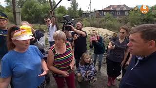 Губернатор Свердловской области посетил пострадавшую от наводнения Верхнюю Салду