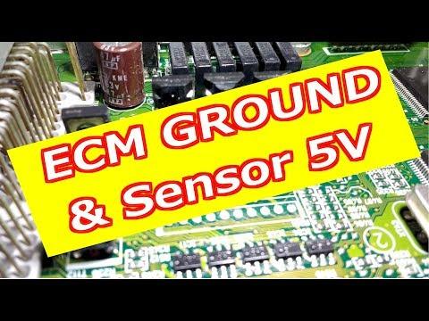 ECM Ground & 5 Volt Interactive Wiring - YouTube