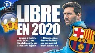 Lionel Messi pourrait partir libre du Barça en 2020 | Revue de presse
