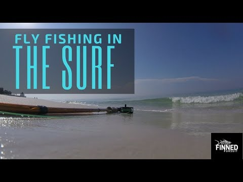 Finned Pursuit Season 1 Ep 6 -- Fly Fishing In The Surf For Ladyfish