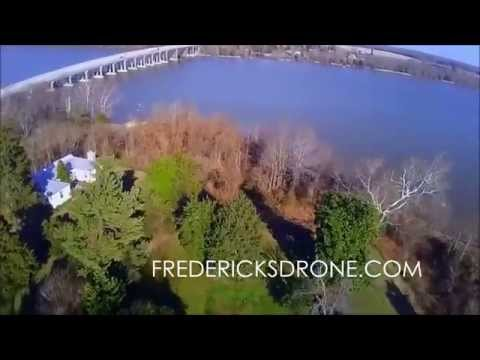 Aerial Drone Video: Port Royal, Virginia
