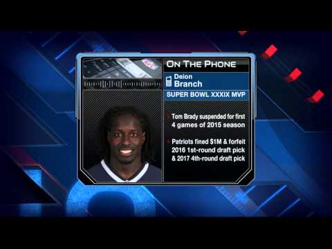 Deion Branch: Tom Brady is not a cheater