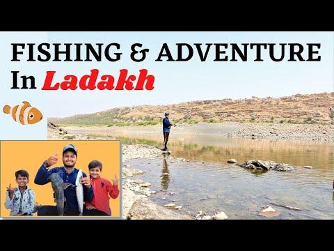 Fishing And Adventure In Ladakh | FISHING | ADVENTURE | RIVER