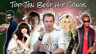 The Top Ten Best Hit Songs of 2012