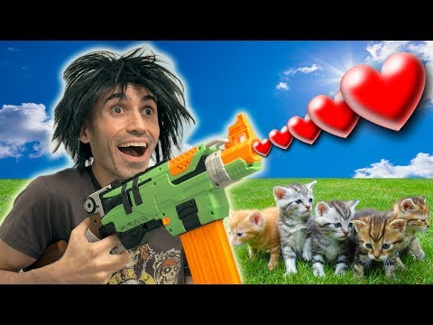 Download Youtube: NERF War: Family Friendly!