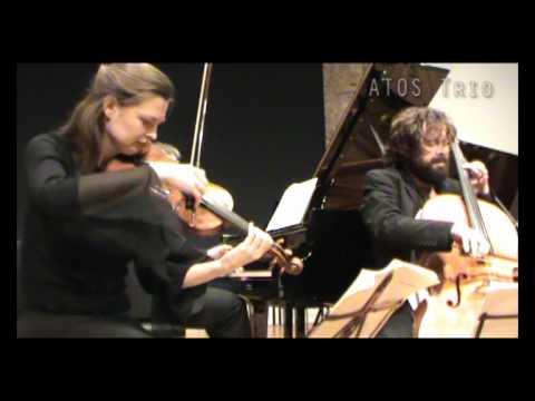 ATOS Trio - Schubert, Trio No.2, op.100 - II Andante con moto - live