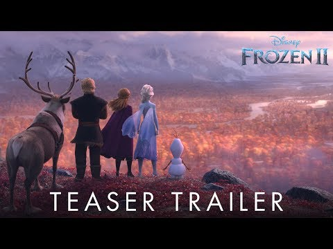 Amy James - The First Official Trailer for 'Frozen 2'