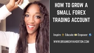 Simple Approach to Growing a Small Forex Trading Account from $100 to $2,000