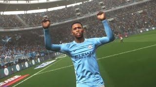 PES 2018 - Manchester City Vs Machester United - PS4 HD Gameplay