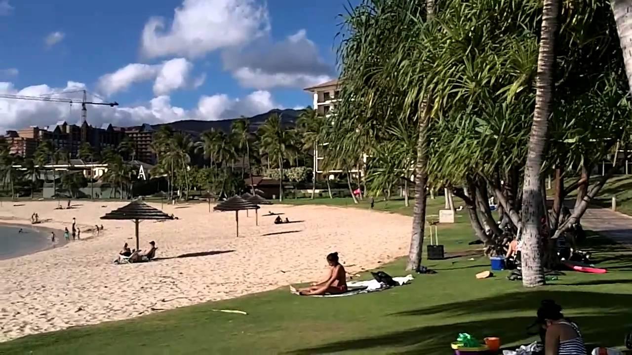 welcome to my backyard 1 ko u0027olina lagoons youtube