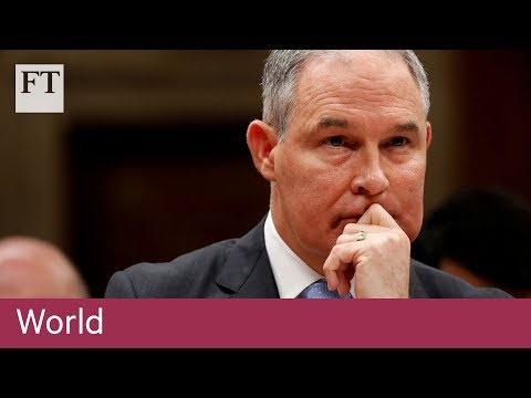 Pruitt resigns as head of the US Environmental Protection Agency