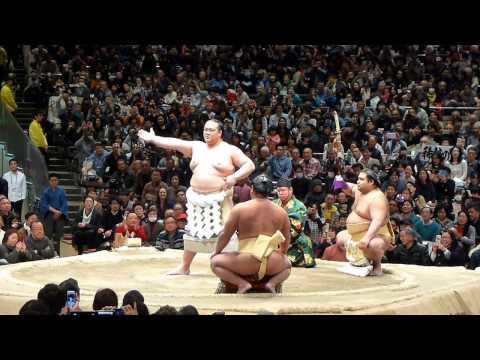 新横綱稀勢の里、国技館で初土俵入り!(2017年2月5日 第41回大相撲トーナメント)