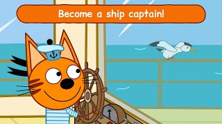 Kid-E-Cats Sea Adventure - Kitty cat games for kids