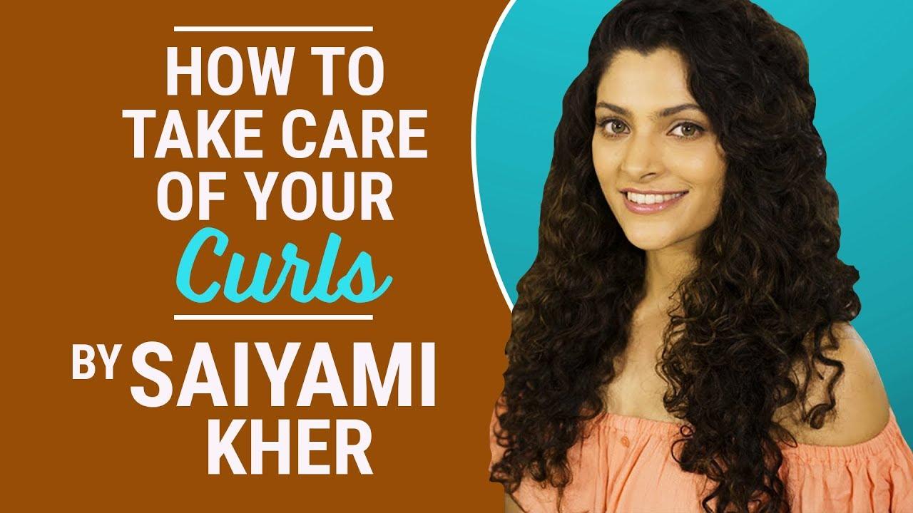 Saiyami Kher reveals her hair care routine secrets | Curly hair | Fashion | Bollywood | Pinkvilla