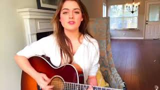 Let It Go - James Bay - acoustic cover by Alana Springsteen
