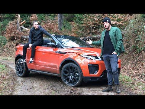 2018 range rover evoque cabrio fahrbericht mit dem suv cabrio im wald review der. Black Bedroom Furniture Sets. Home Design Ideas
