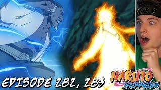 NARUTO + KILLER BEE VS. THE RAIKAGE!   Shippuden REACTION Episode 282 & 283