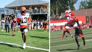 Odell Beckham Jr MAKING PLAYS At Cleveland Browns TRAINING CAMP!
