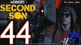 inFAMOUS: Second Son PS4 Walkthrough - Part 44 - EVIL KARMA Reggie Takes Flight ,Heaven's Hellfire