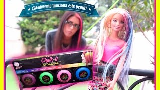 ¿Realmente funciona este pedul? CHALK IT HAIR COLORING