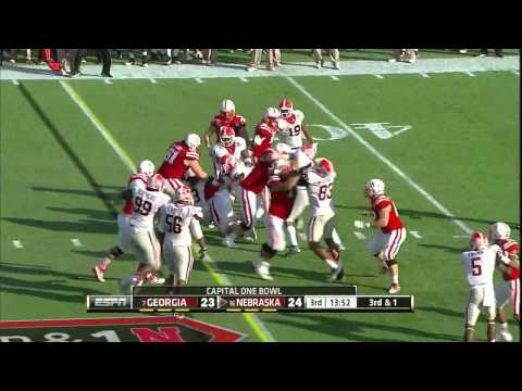 Jarvis Jones vs Nebraska 2012