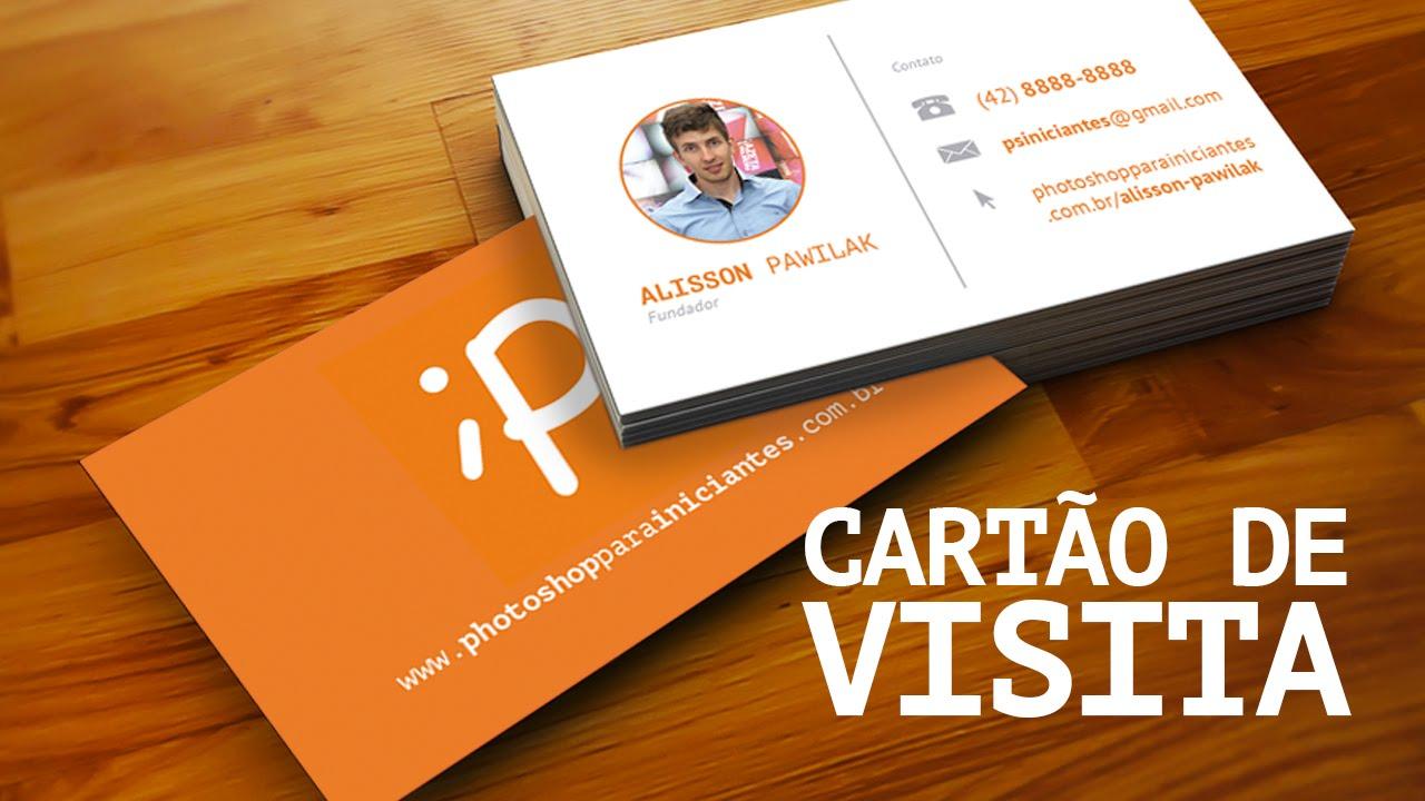 Cartao De Amor Para Photoshop: Como Fazer Cartão De Visitas No Photoshop