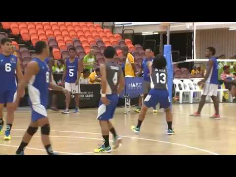 Pacific Games  2015   D11 VOLLEYBALL M G1 KIRIBATI vs GUAM