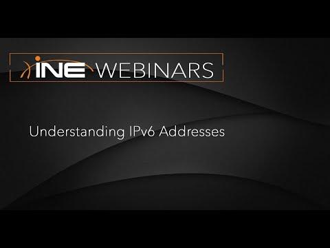 INE Live Webinar: Understanding IPv6 Addresses