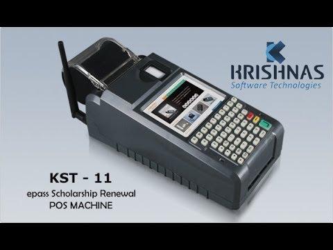 Online Demo - ePASS Post Matric Scholarship POS Machine