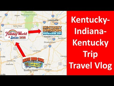 Kentucky/Indiana/Kentucky Trip Travel Vlog