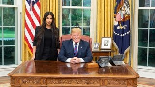 Kim Kardashian West meets Trump, discusses prison reform