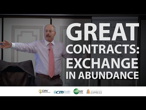 Great Contracts: Exchange In Abundance