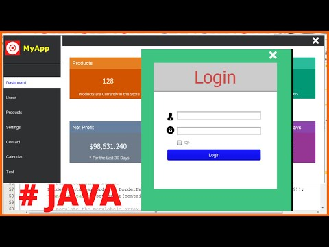 Java Project Tutorial - How To Design Login And Dashboard Form In Java Netbeans - 1BestCsharp blog