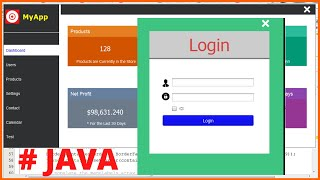Java Project Tutorial - How To Design Login And Dashboard Form In Java Netbeans