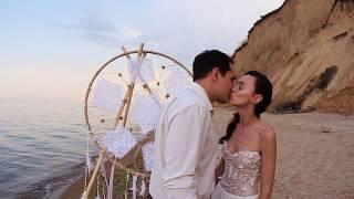 Трогательная свадьба у моря. Одесса