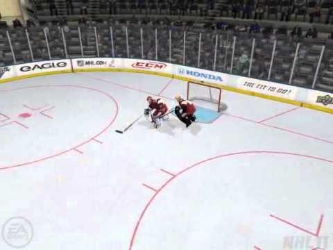 NHL 11 Double Goalie Bug/Glitch HUT