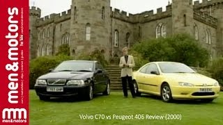 Volvo C70 vs Peugeot 406 Review (2000)