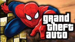 GTA 4: Spiderman in GTA! - (Web Swinging Powers Funny Moments w/ Mods)(GTA 4 Spiderman Web Swinging Mod • Please do