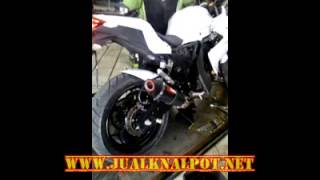 Knalpot Kawasaki Z250 Scorpion Red Power