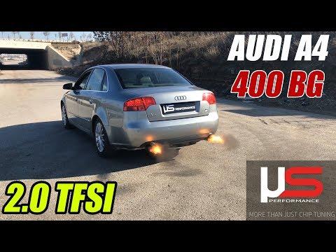 AUDI A4 2.0 TFSI 400 Hp - US PERFORMANCE GARAJ SOHBETLERİ BÖLÜM 4