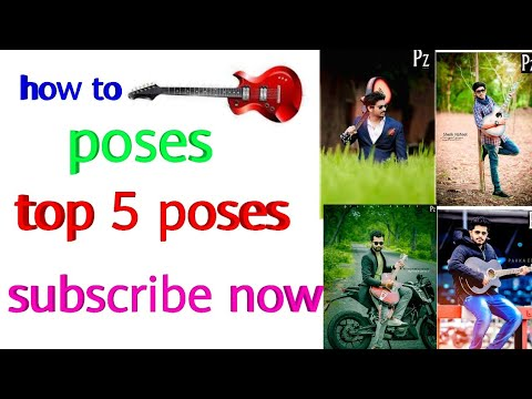 top-5-guitar-pose-||best-picture-with-guitar-by-designer-harsh,||-pose,||photography,||-modling-pose