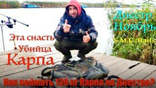 Как Поймать 130 кг Карпа на Днестре Устье Днестра Демидовские Домики S M C Baits