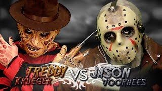 Freddy Krueger vs Jason Voorhees. Batalla de Rap (Especial Halloween) | Keyblade