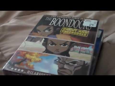 The Boondocks DVD unboxing seasons 1-3