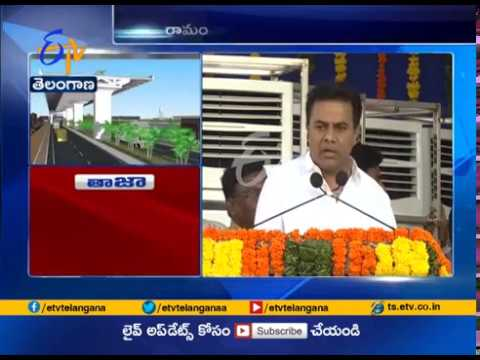 Flyovers Constructed in 54 Junctions at Hyderabad | Minister KTR | Ramanthapur