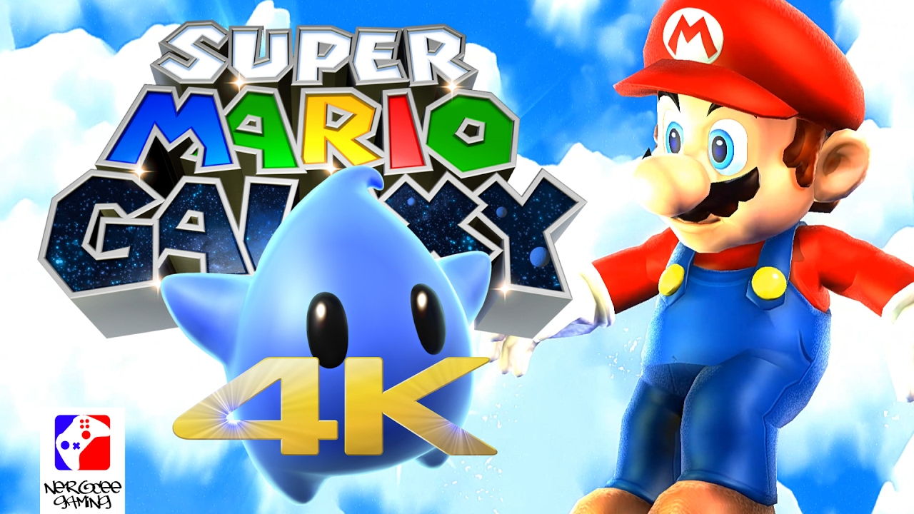 Super Mario Galaxy 4k [hd textures] | Nocxs