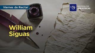 Viernes de Recital: William Siguas